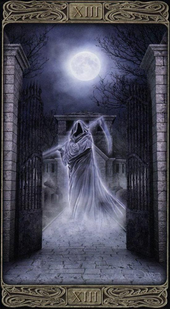 Таро призраков_Смерть