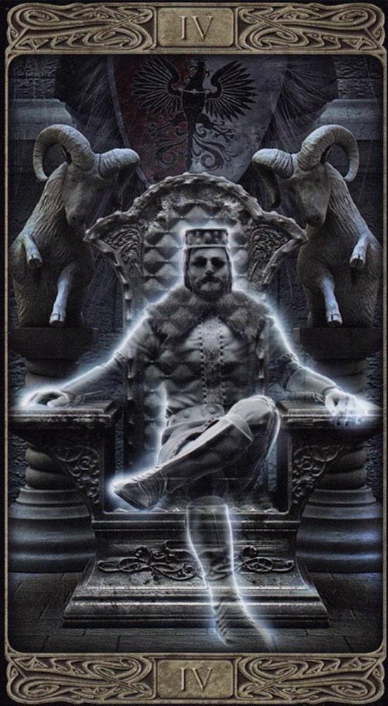Таро призраков_Император