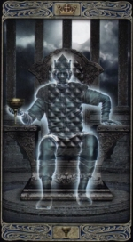 Таро призраков_Король кубков