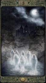 Таро призраков_5 пентаклей