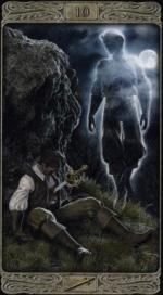Таро призраков_10 мечей