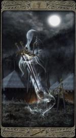 Таро призраков_7 мечей