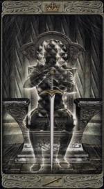 Таро призраков_Король мечей