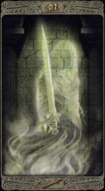 Таро призраков_Паж мечей