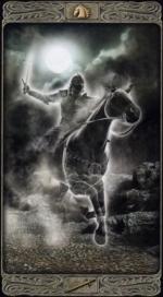 Таро призраков_Рыцарь мечей