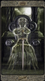 Таро призраков_Королева мечей