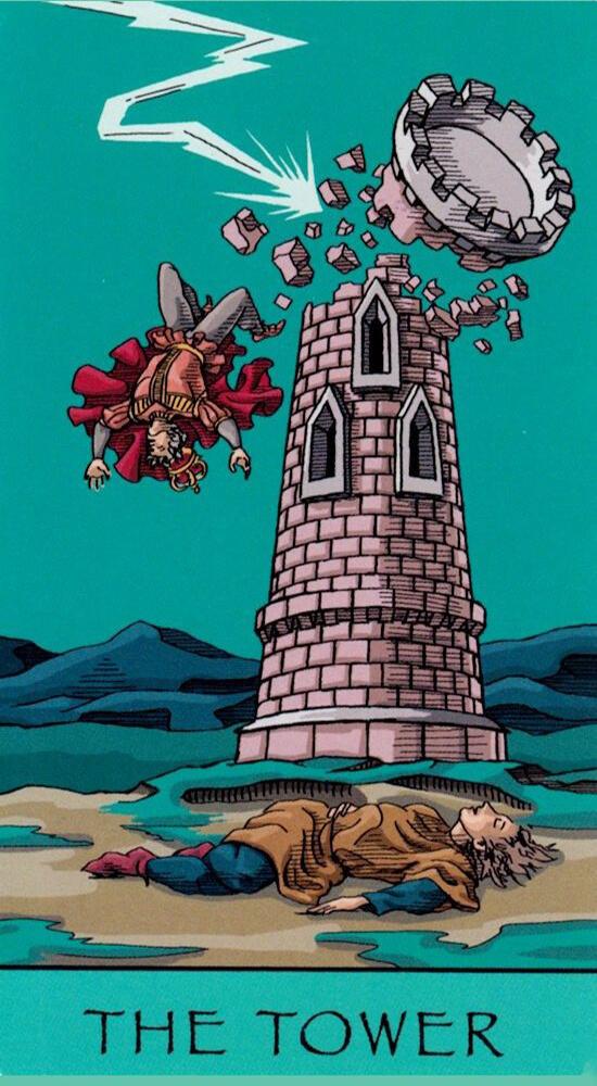 Таро Счастливой звезды_Башня