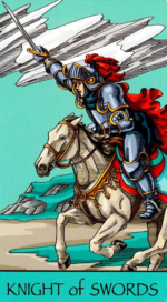Таро Счастливой звезды_Рыцарь мечей