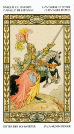 Таро Гармония_Рыцарь мечей