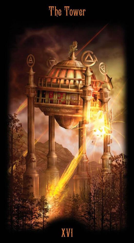 Таро Божественного наследия_Башня