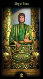 Таро Божественного наследия_Король пентаклей