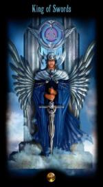 Таро Божественного наследия_Король мечей