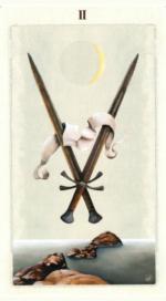 Таро языческих иномиров_2 мечей