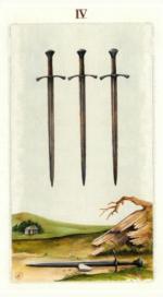 Таро языческих иномиров_4 мечей