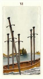 Таро языческих иномиров_6 мечей