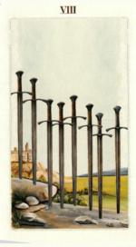 Таро языческих иномиров_8 мечей
