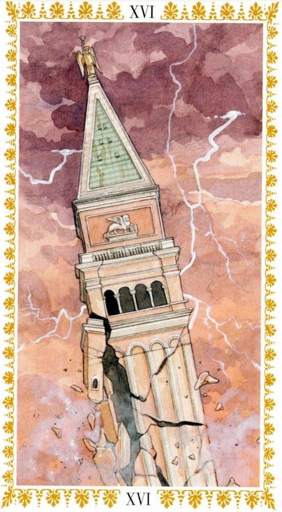 Романтическое таро_Башня