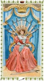 Романтическое таро_Королева мечей