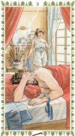 Романтическое таро_8 жезлов