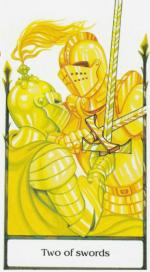 Таро старого пути_2 мечей