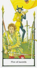 Таро старого пути_5 мечей
