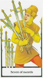 Таро старого пути_7 мечей