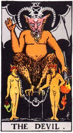 Значение карты Таро Дьявол