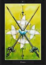 Таро Алистера Кроули_2 мечей