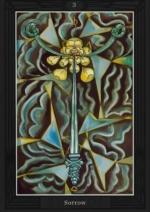 Таро Алистера Кроули_3 мечей