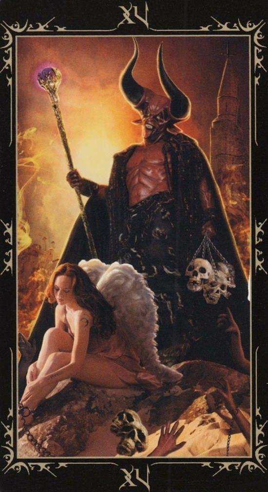 Таро Темных сказок_ Дьявол