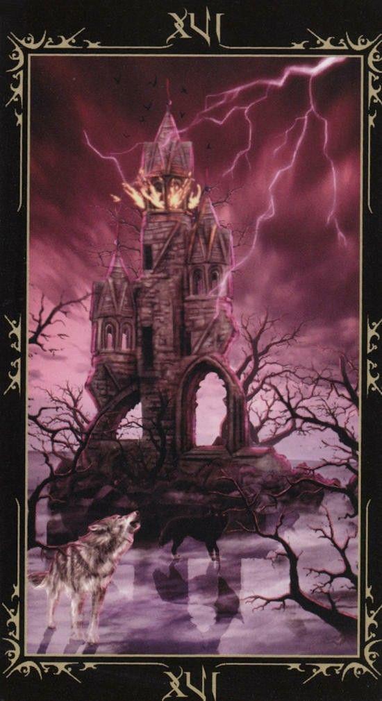 Таро Темных сказок_ Башня