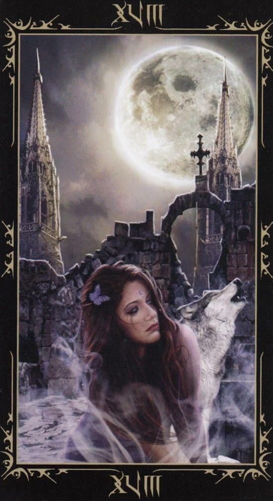 Таро Темных сказок_ Луна