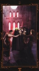 Таро Темных сказок_3 кубков
