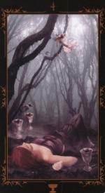 Таро Темных сказок_4 кубков