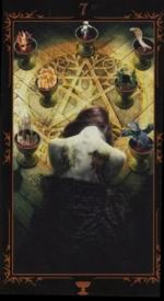 Таро Темных сказок_7 кубков