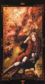 Таро Темных сказок_Королева кубков