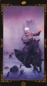 Таро Темных сказок_Рыцарь пентаклей
