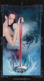 Таро Темных сказок_Туз мечей