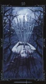 Таро Темных сказок_10 мечей