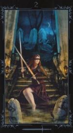 Таро Темных сказок_2 мечей