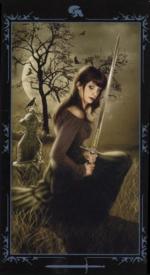 Таро Темных сказок_Паж мечей