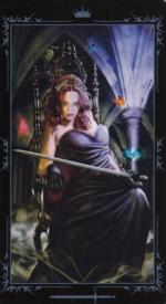 Таро Темных сказок_Королева мечей