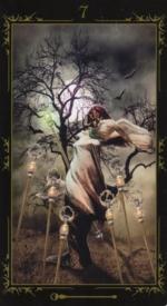 Таро Темных сказок_7 жезлов