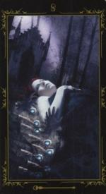 Таро Темных сказок_8 жезлов