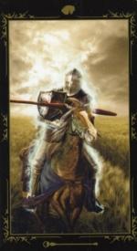 Таро Темных сказок_Рыцарь жезлов