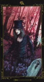Таро Темных сказок_Королева жезлов