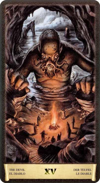 Таро Черный Гримуар_ Дьявол