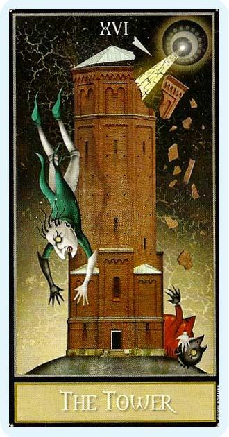 Таро Безумной Луны_Башня