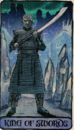 Таро Игра Престолов_Король мечей