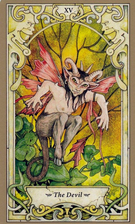 Таро Мистических фей, Дьявол